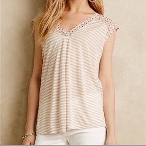 Anthropologie {little yellow button} top